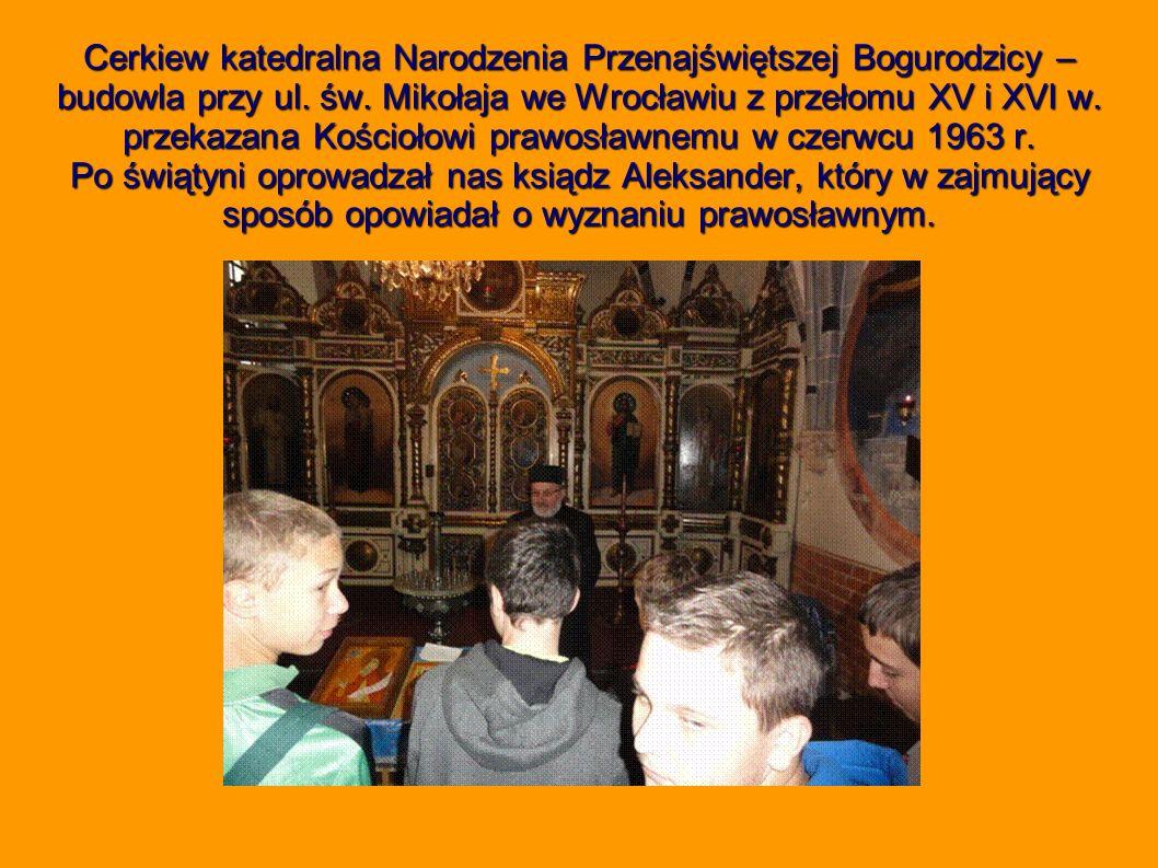 Cerkiew katedralna Narodzenia Przenajświętszej Bogurodzicy – budowla przy ul.