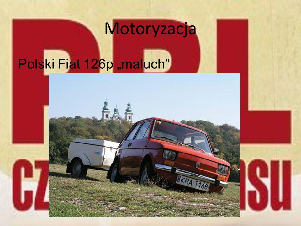 """Motoryzacja Polski Fiat 126p """"maluch"""