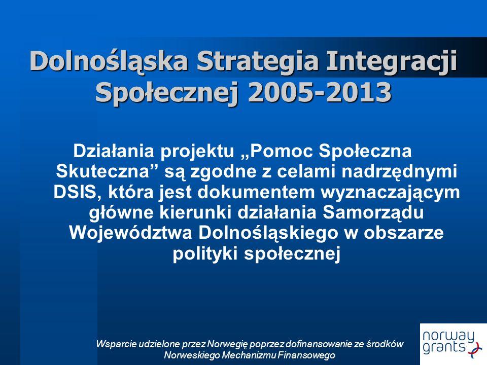 Dolnośląska Strategia Integracji Społecznej 2005-2013