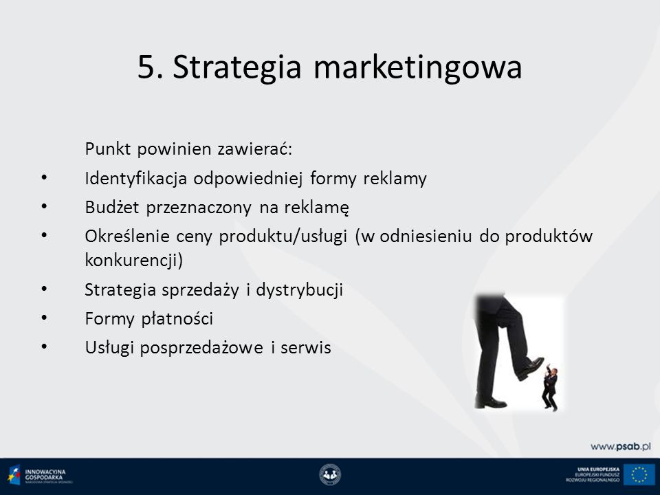 5. Strategia marketingowa