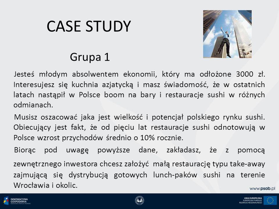 CASE STUDY Grupa 1.