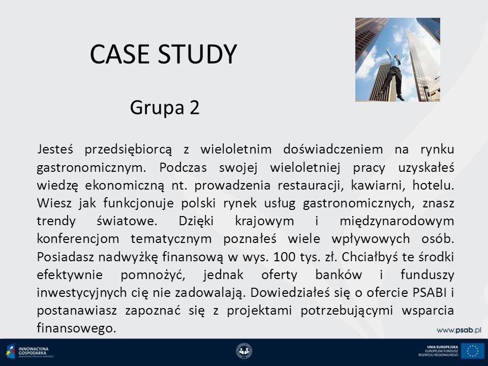 CASE STUDY Grupa 2.