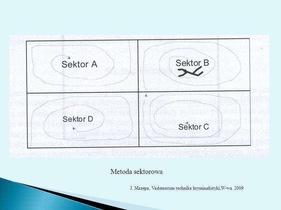 Metoda sektorowa Metoda sektorowa