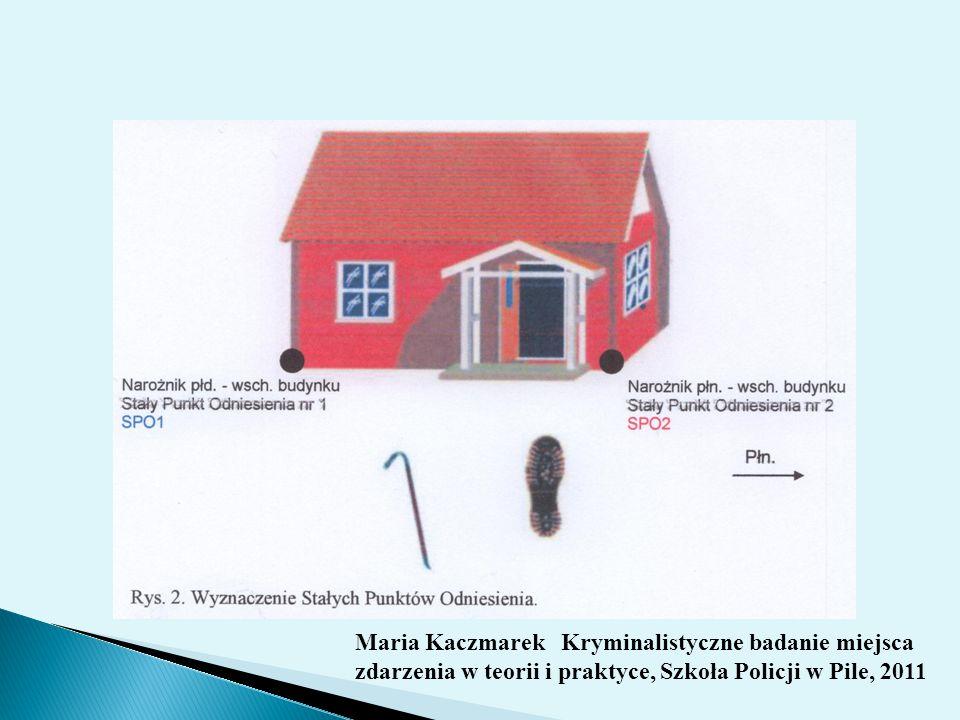 Maria Kaczmarek Kryminalistyczne badanie miejsca