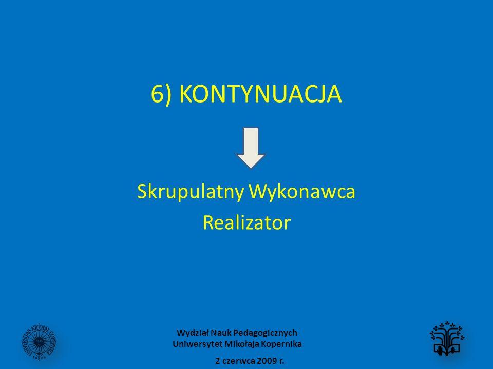 Wydział Nauk Pedagogicznych Uniwersytet Mikołaja Kopernika