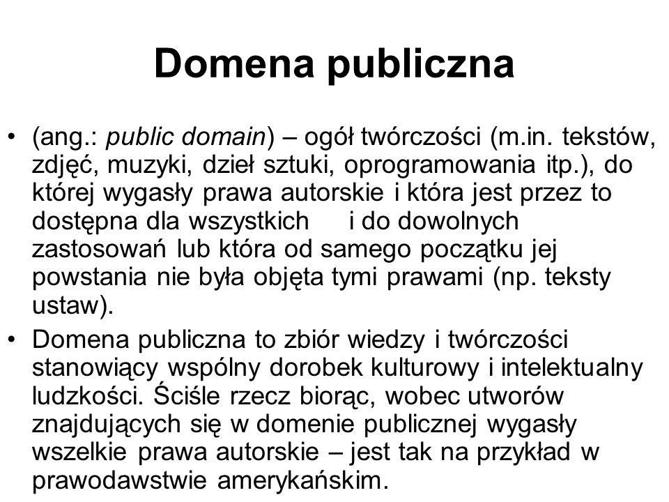 Domena publiczna