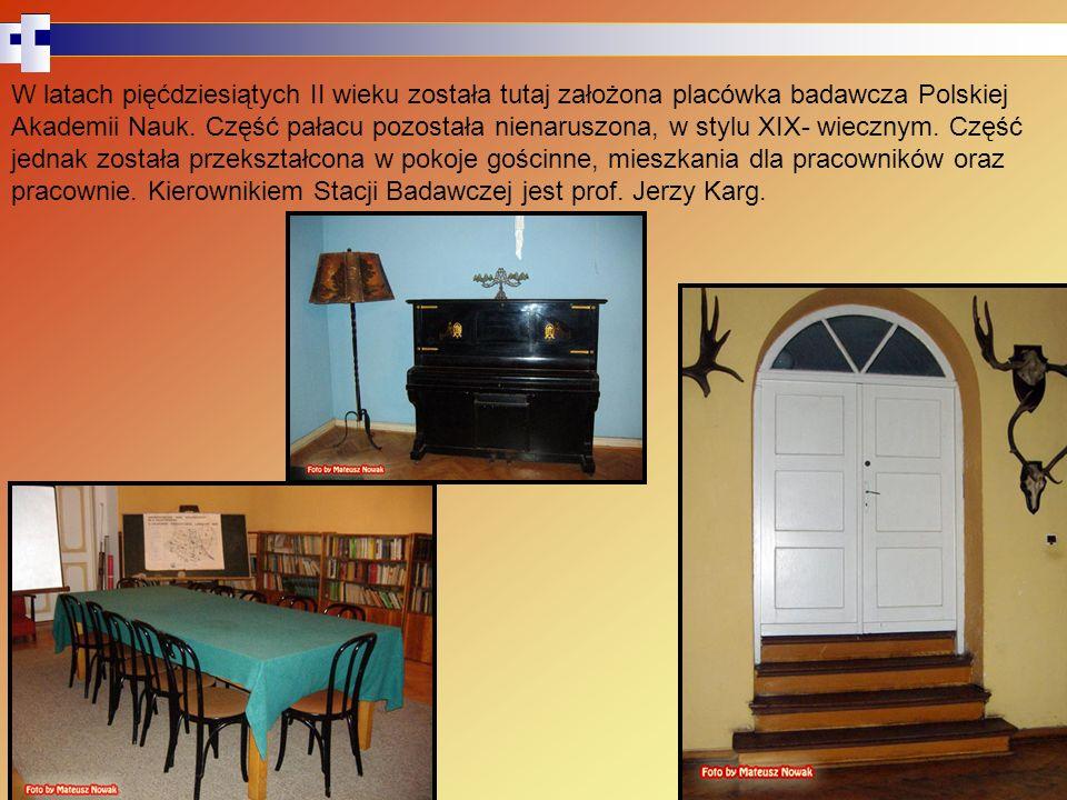 W latach pięćdziesiątych II wieku została tutaj założona placówka badawcza Polskiej Akademii Nauk.