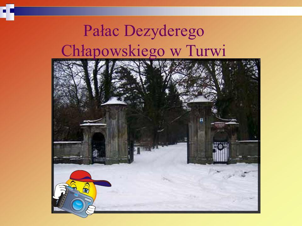 Pałac Dezyderego Chłapowskiego w Turwi