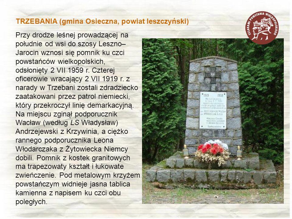 TRZEBANIA (gmina Osieczna, powiat leszczyński)
