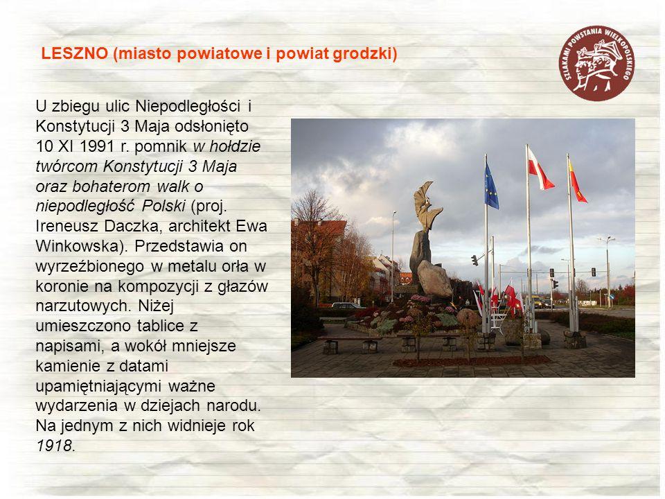 LESZNO (miasto powiatowe i powiat grodzki)