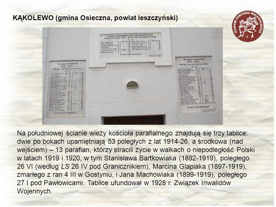 KĄKOLEWO (gmina Osieczna, powiat leszczyński)