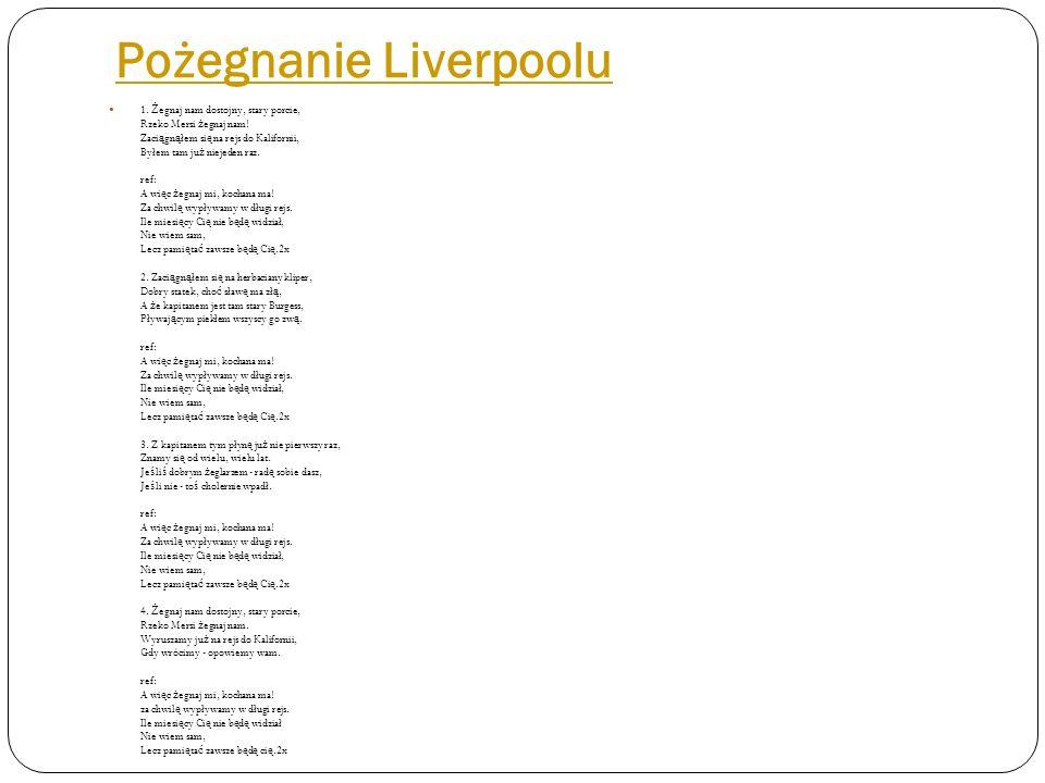 Pożegnanie Liverpoolu