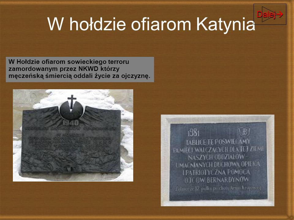 W hołdzie ofiarom Katynia