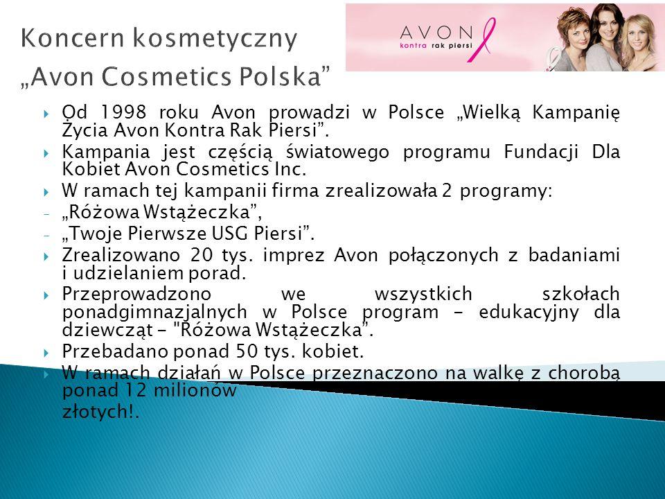 "Koncern kosmetyczny ""Avon Cosmetics Polska"