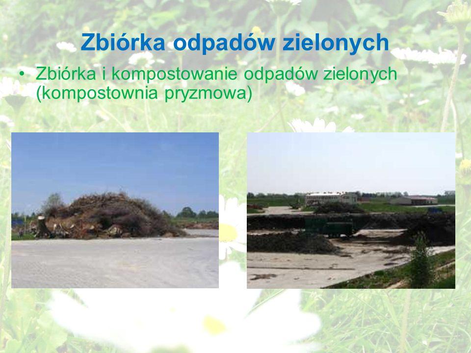 Zbiórka odpadów zielonych
