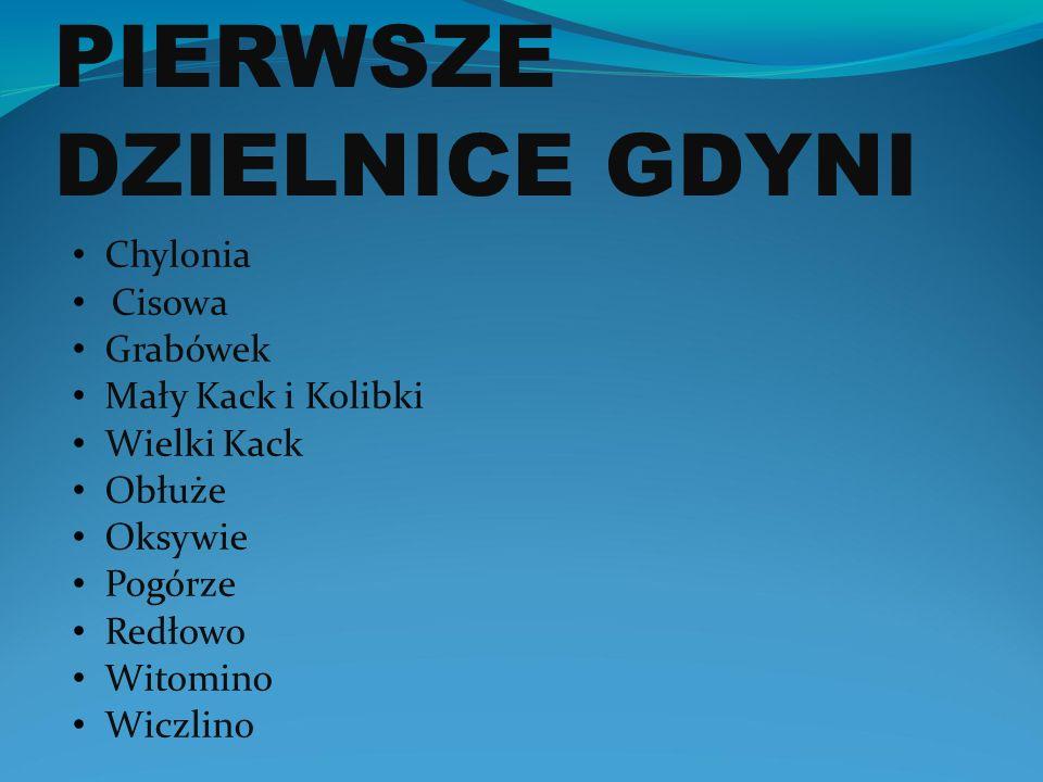 Pierwsze Dzielnice Gdyni