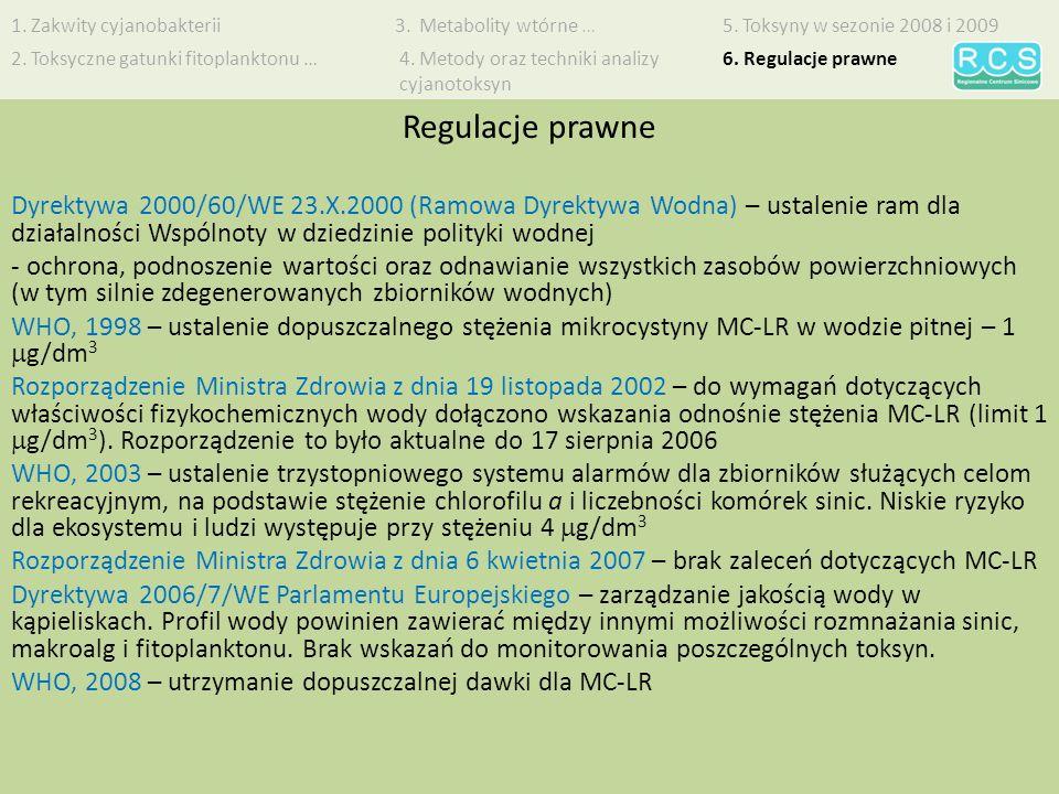1. Zakwity cyjanobakterii