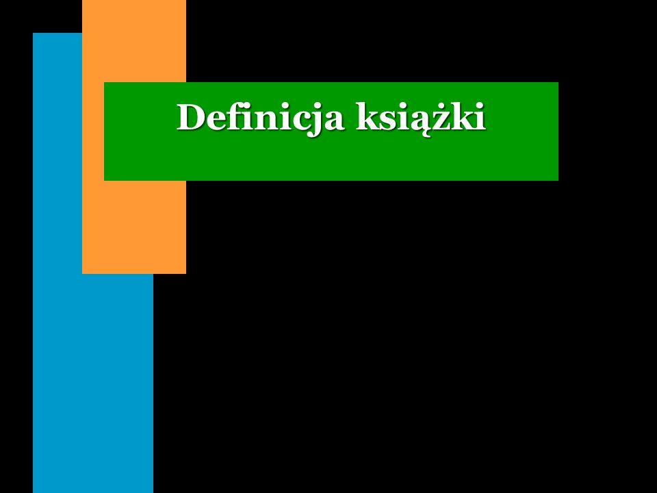 Definicja książki