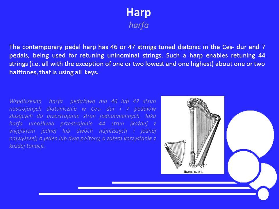 Harp harfa