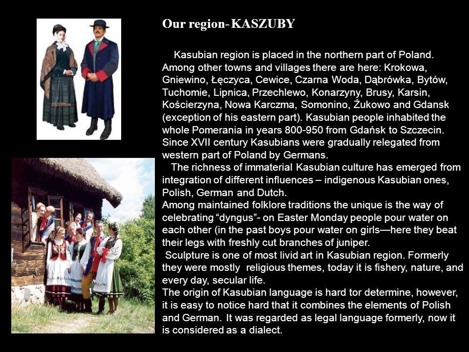 Our region- KASZUBY