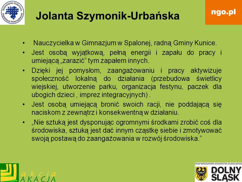 Jolanta Szymonik-Urbańska