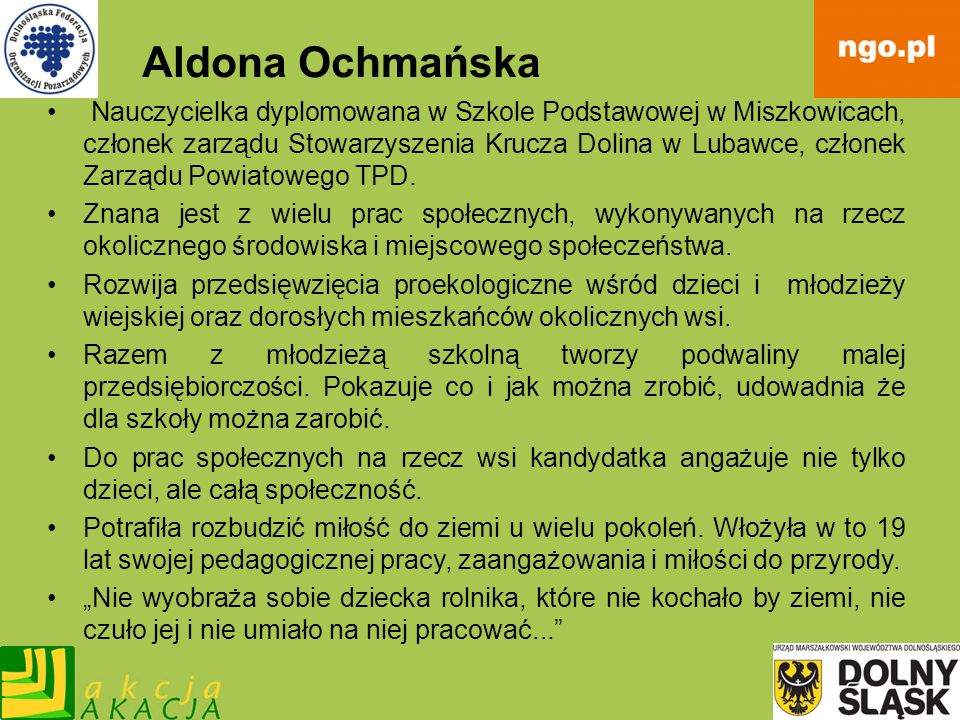 Aldona Ochmańska
