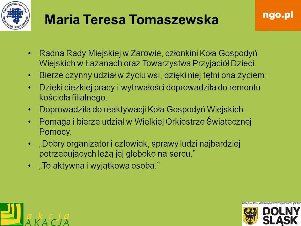 Maria Teresa Tomaszewska