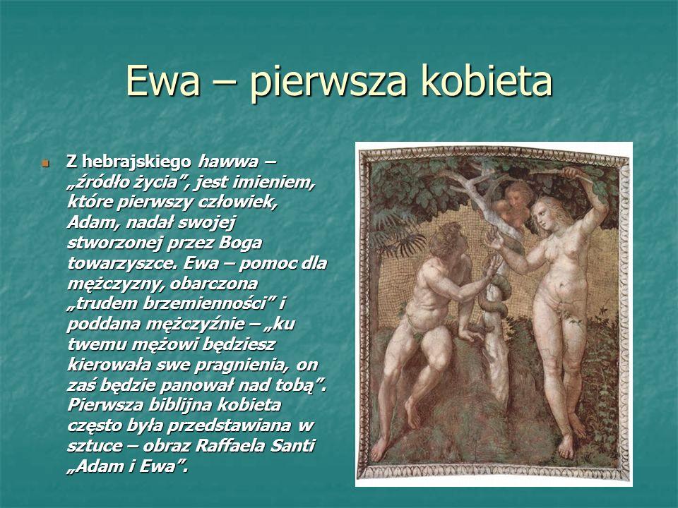 Ewa – pierwsza kobieta