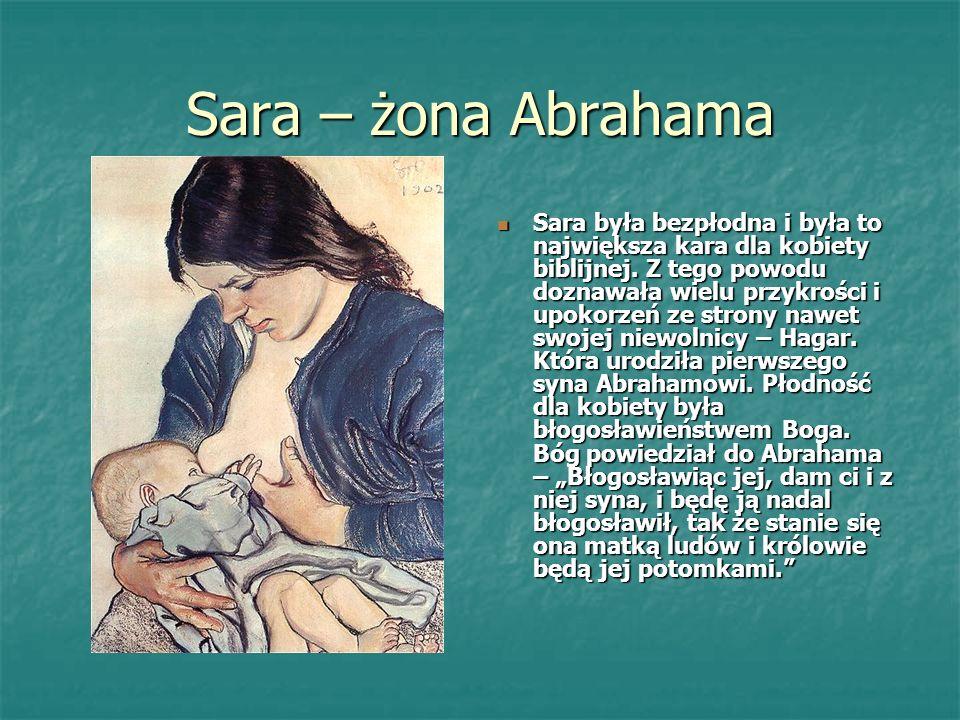 Sara – żona Abrahama