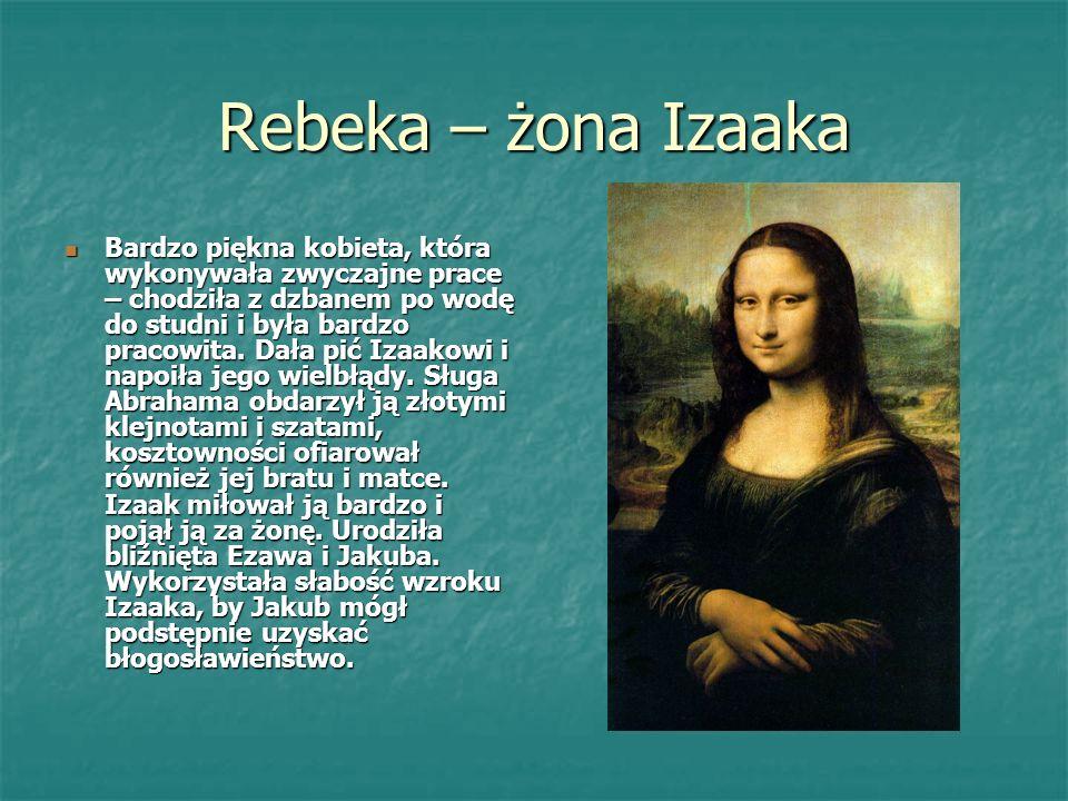 Rebeka – żona Izaaka