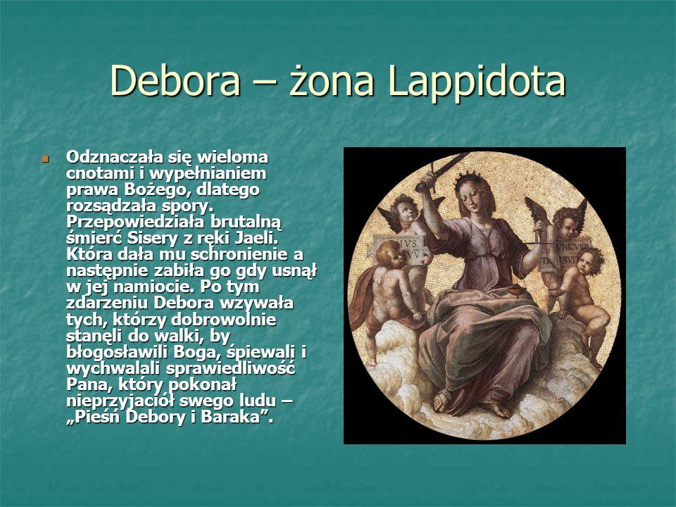 Debora – żona Lappidota