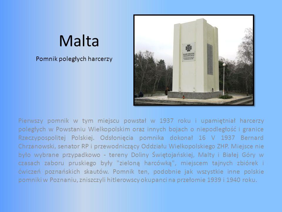 Malta Pomnik poległych harcerzy