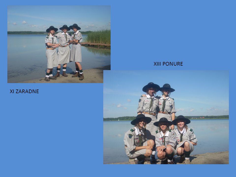 XIII PONURE XI ZARADNE