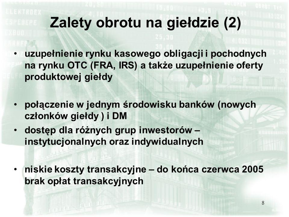 Zalety obrotu na giełdzie (2)