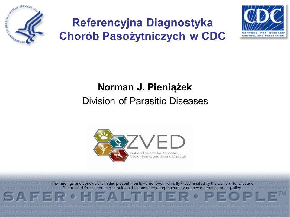 Referencyjna Diagnostyka Chorób Pasożytniczych w CDC