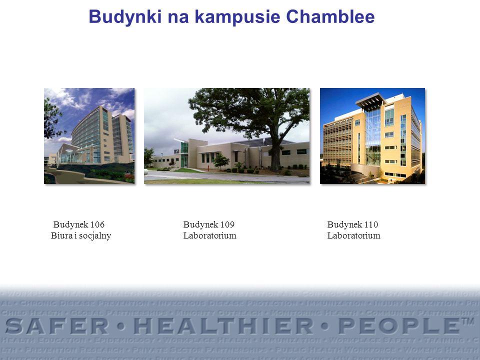 Budynki na kampusie Chamblee