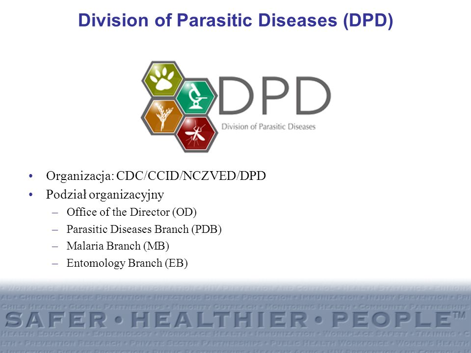 Division of Parasitic Diseases (DPD)