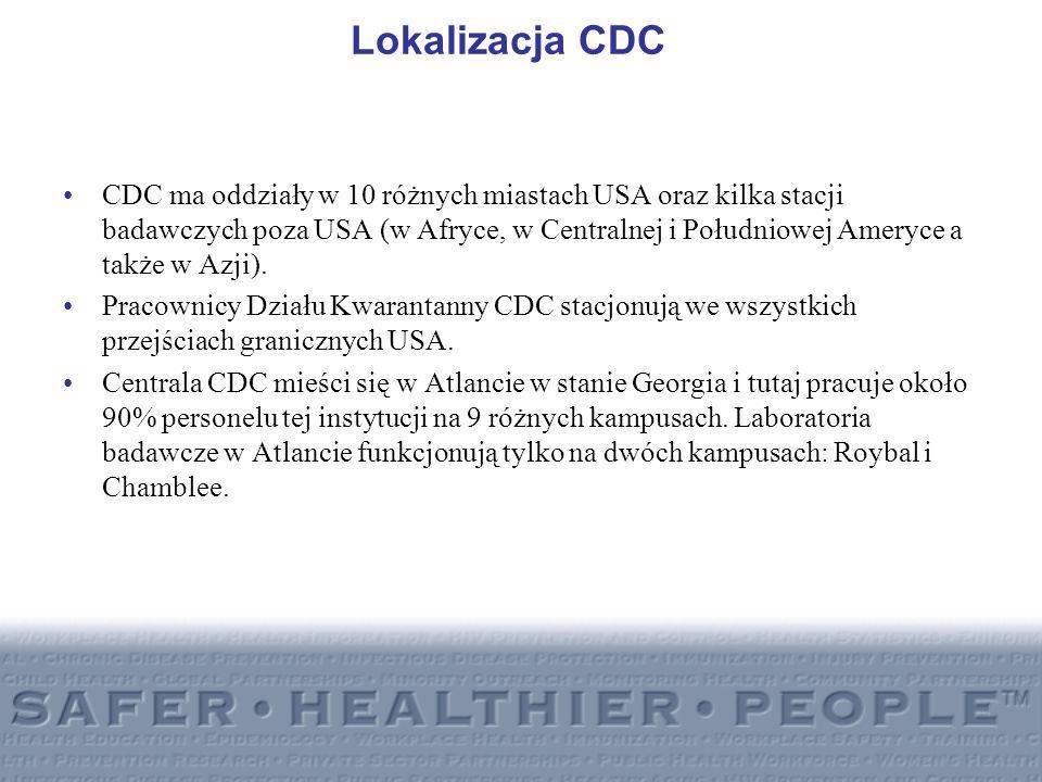 Lokalizacja CDC