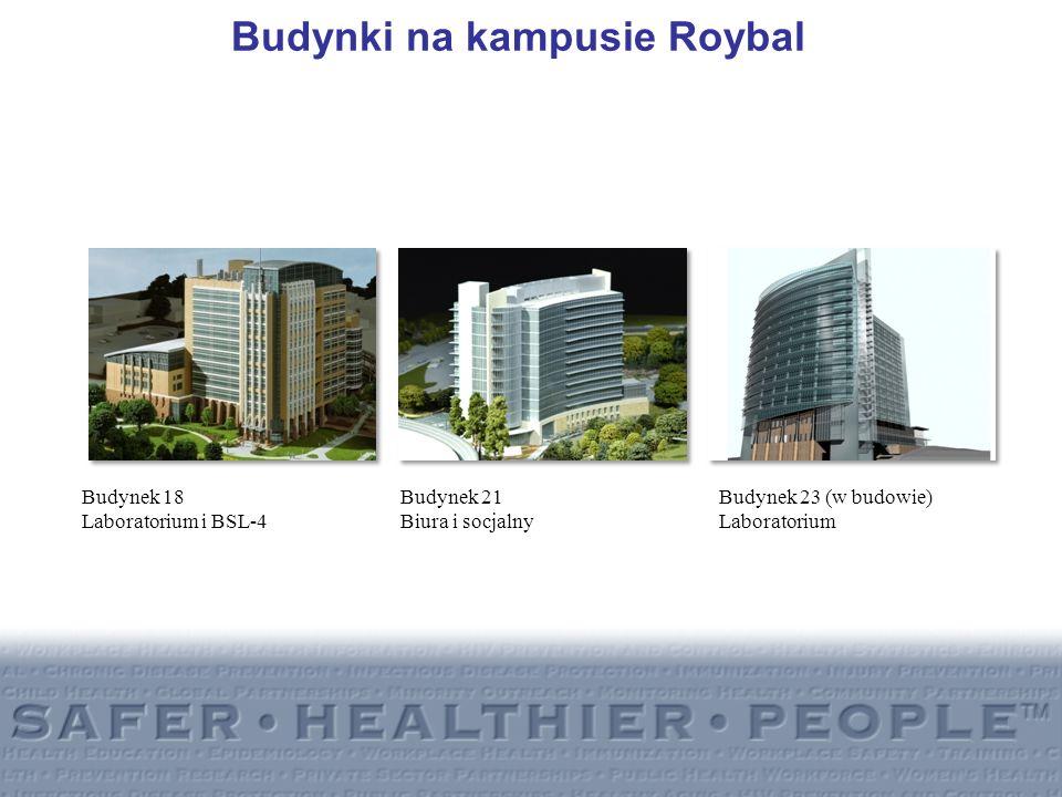 Budynki na kampusie Roybal
