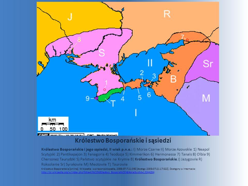 Królestwo Bosporańskie i sąsiedzi