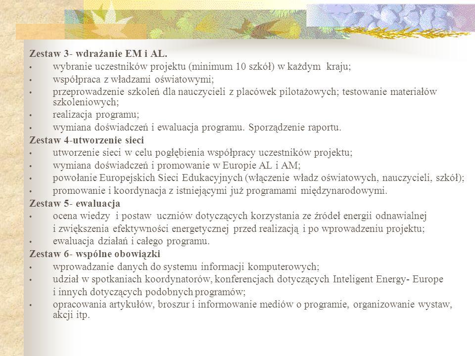Zestaw 3- wdrażanie EM i AL.