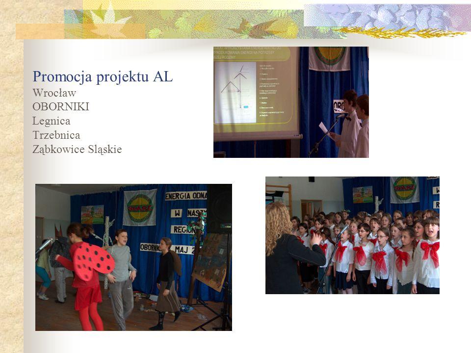 Promocja projektu AL Wrocław OBORNIKI Legnica Trzebnica Ząbkowice Sląskie