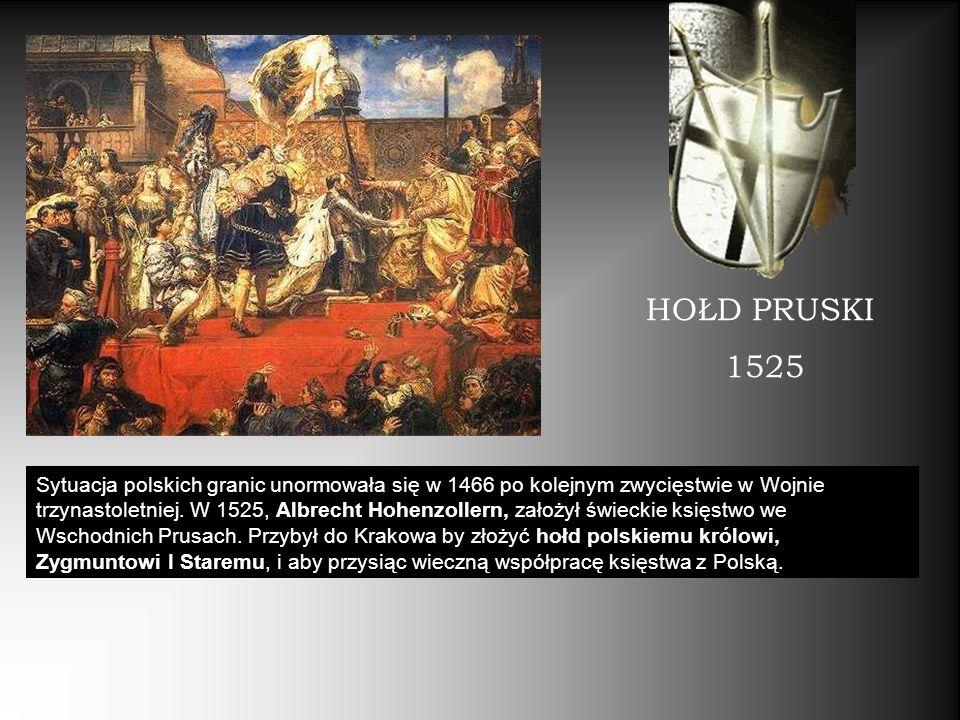 HOŁD PRUSKI 1525.