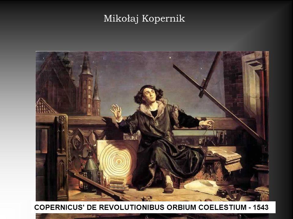 Mikołaj Kopernik COPERNICUS DE REVOLUTIONIBUS ORBIUM COELESTIUM - 1543
