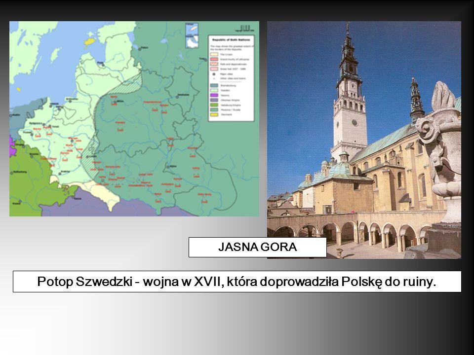 Potop Szwedzki - wojna w XVII, która doprowadziła Polskę do ruiny.