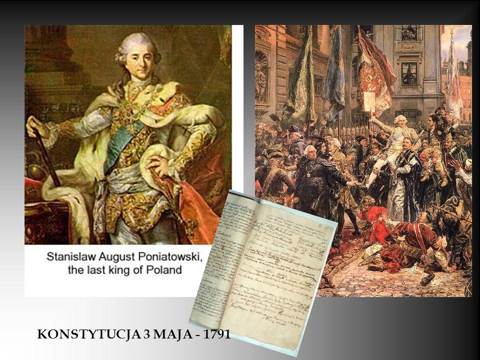 KONSTYTUCJA 3 MAJA - 1791