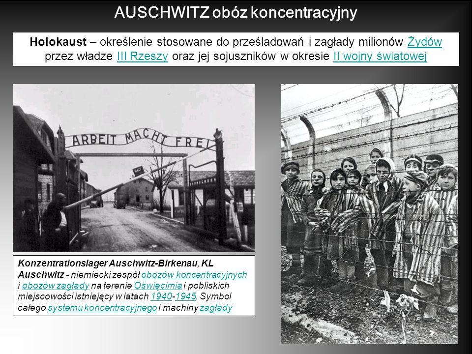 AUSCHWITZ obóz koncentracyjny