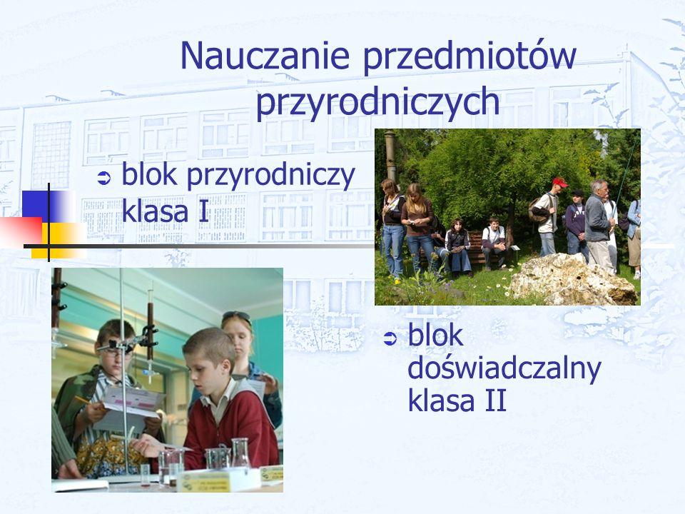 Nauczanie przedmiotów przyrodniczych