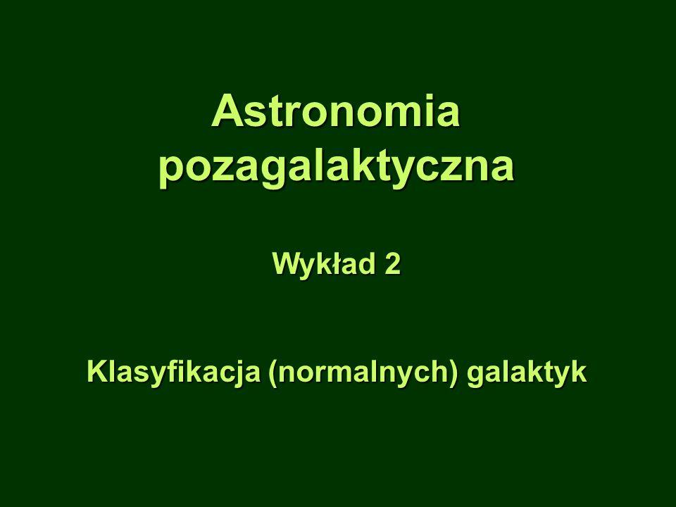 Klasyfikacja (normalnych) galaktyk
