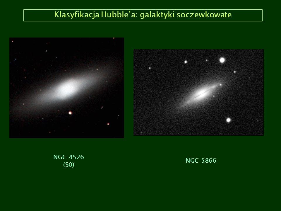 Klasyfikacja Hubble'a: galaktyki soczewkowate